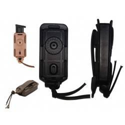 porte chargeur vega holster simple bungy bbl01 vert od pour PA