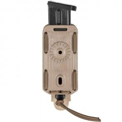 porte chargeur vega holster simple bungy bbl01 tan pour PA