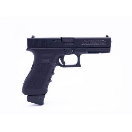 pack glock G17 gen3 militarisé sparatan sur base inokatsu chargeur co2 et gaz