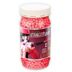 pot 2400 bb's 0.25g tracante phosphorescente rouge g&g