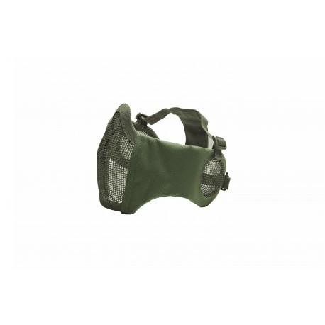 masque grillagé OD ASG avec protection oreille 19254
