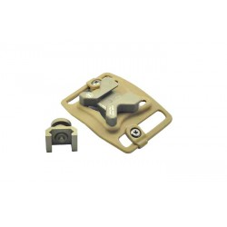 weaponlink attache ceinture tan FMA
