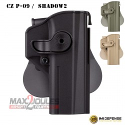 holster retention IMI pour CS p-09 et shadow 2 imi-z1450