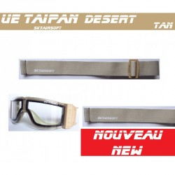 masque taipan sable tan double vitrage skyairsoft