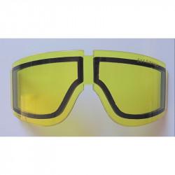 ecran jaune thermal rechange pour masque taipan skyairsoft