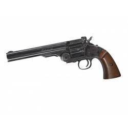 """revolver schofield 6"""" effet noir vieilli co2 6mm"""