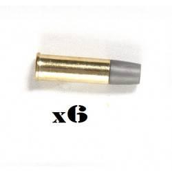 lot 6 douilles airsoft 6mm pour schofield