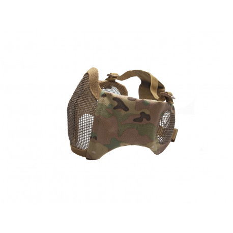 masque grillagé multicam ASG avec protection oreille 19235