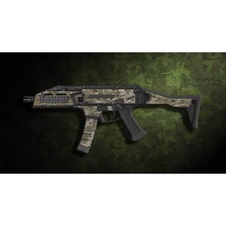 kit complet customisation skin scorpion EVO 3A1 multicam + 4 chargeurs