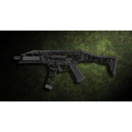 kit complet customisation skin scorpion EVO 3A1 multicam BLACK  + 4 chargeurs