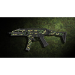 kit complet customisation skin scorpion EVO 3A1 camo original DF + 4 chargeurs