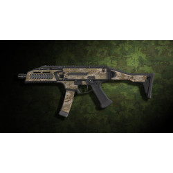 kit complet customisation skin scorpion EVO 3A1 camo multicam aride  + 4 chargeurs