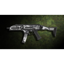 kit complet customisation skin scorpion EVO 3A1 camo URBAN  + 4 chargeurs