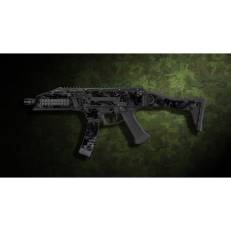 kit complet customisation skin scorpion EVO 3A1 camo kryptec typhon  + 4 chargeurs