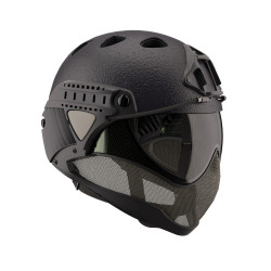 casque anti buee WARQ noir serie speciale RAPTOR