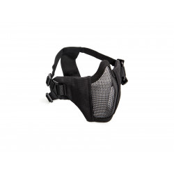 demi masque grillagé noir  ASG 19079
