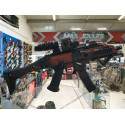 kit complet custom skin scorpion EVO 3A1 camo serpent rouge  + 4 chargeurs