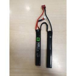 batterie lipo 7.4v 1450mah 2 sticks 30c T-DEANS nuprol a63212 8122