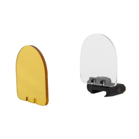 kit basculant protection point rouge lancer tactial jaune et blanc