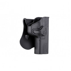 holster rigide retention famille glock g19 g17