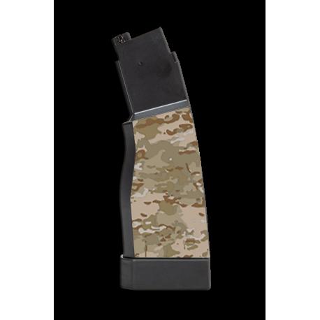kit 2 skin camo MULTICAM ARIDE pour chargeurs hi-capa scorpion evo