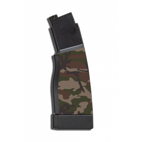 kit 2 skin camo WOODLAND pour chargeurs hi-capa scorpion evo