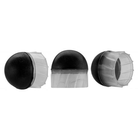 pot 30 bb's caoutchouc à ailettes calibre 50