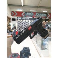 aw custom VX0101 hex cut version metal noir inner chrome